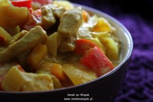 Curry z indyka.