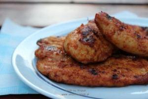 Kurczak cytrynowo-paprykowy.