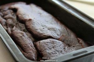 Ciasto czekoladowe (bez mąki i cukru).