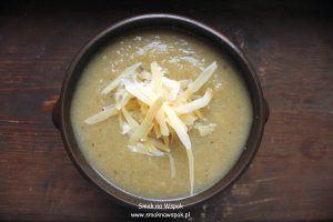 Delikatna zupa z kalafiora.